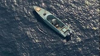 قایق مین گذاری شده حوثیها - عکس از آرشیو
