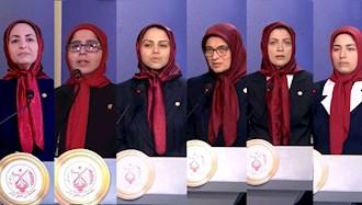 شش معاون جدید مسئول اول سازمان مجاهدین خلق ایران   - ۱۴شهریور ۱۴۰۰
