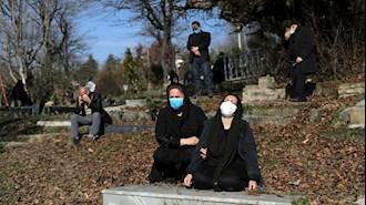 وضعیت بحرانی کرونا در ایران