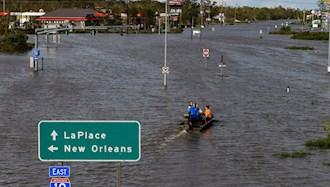 طوفان آیدا در نیواورلئان