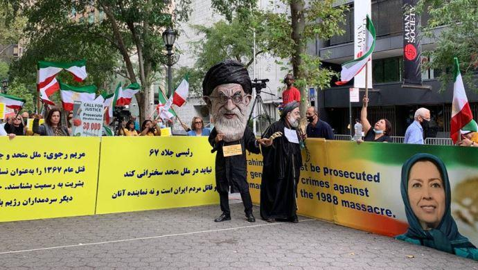 تظاهرات ایرانیان آزاده در نیویورک