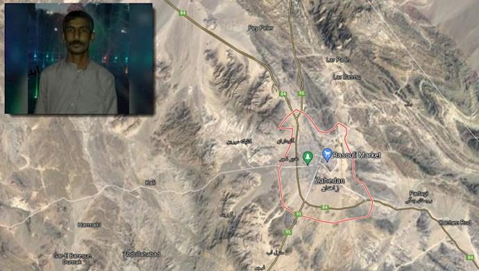 کشته شدن یک سوختبر توسط ماموران رژیم در زاهدان