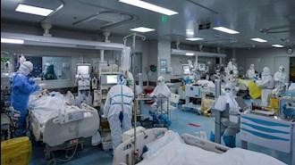 بیمارستانها مملو از بیماران کرونایی