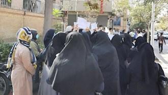 تجمع اعتراضی معلمان مشهد