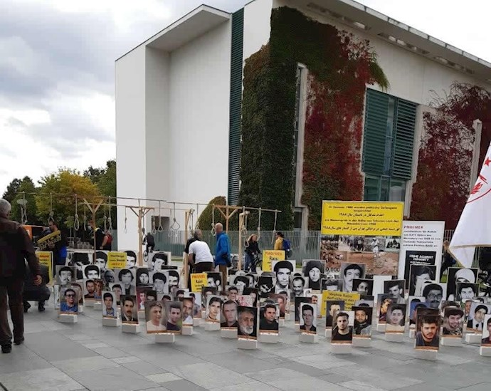 -آکسیون ایرانیان آزاده و هواداران سازمان مجاهدین در برلین - 0
