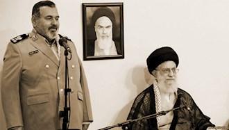 خامنهای ولی فقیه ارتجاع - پاسدار حسن فیروزآبادی