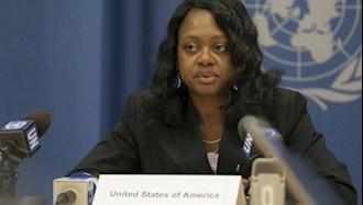 بونی جنکینز معاون وزیر خارجه آمریکا در امور کنترل تسلیحاتی و امنیت بینالمللی
