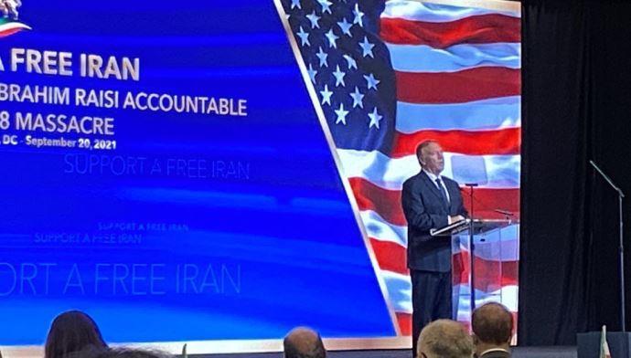 سخنرانی مایک پمپئو در اجلاس واشنگتن