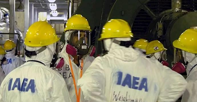 فعالیت بازرسان سازمان انرژی اتمی در ایران