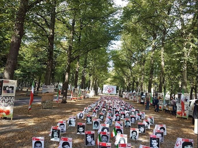 -آکسیون ایرانیان آزاده در هلند علیه آخوند جلاد رئیسی - 1