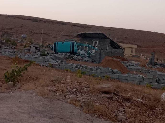 تخریب خانههای مردم در شیراز توسط رژیم - 5