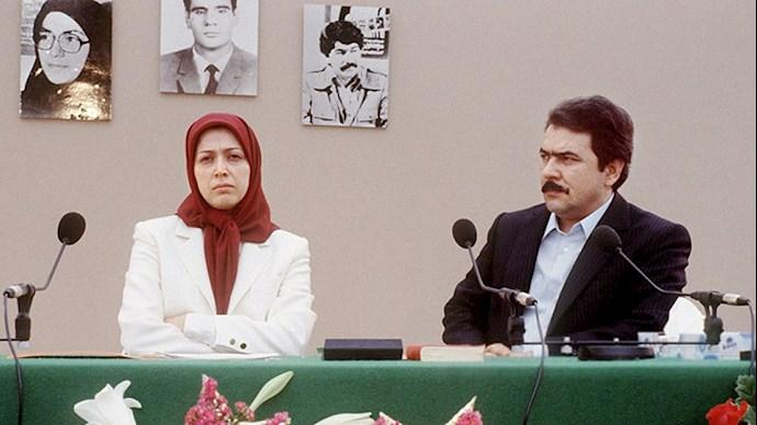 مسعود و مریم رجوی