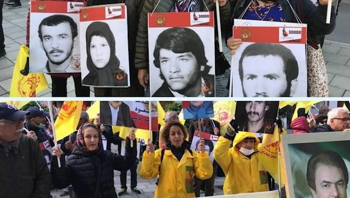 تظاهرات ایرانیان آزاده در دادخواهی قتل عام شدگان ۶۷