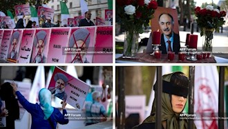 گردهماییهای جهانی علیه ابراهیم رئیسی در انگلستان - ۳۰شهریور۱۴۰۰