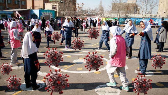 کودکان در میدان مین کرونا