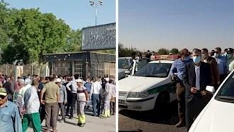 تجمعهای اعتراضی در  خرمشهر  و ...