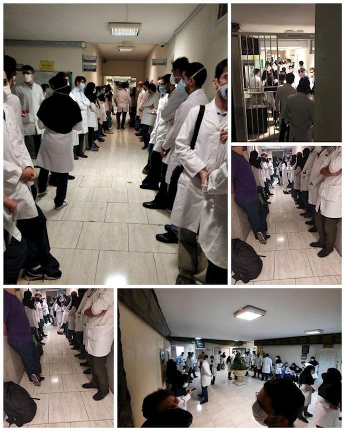 -کارورزان پزشکی بیمارستان مفید