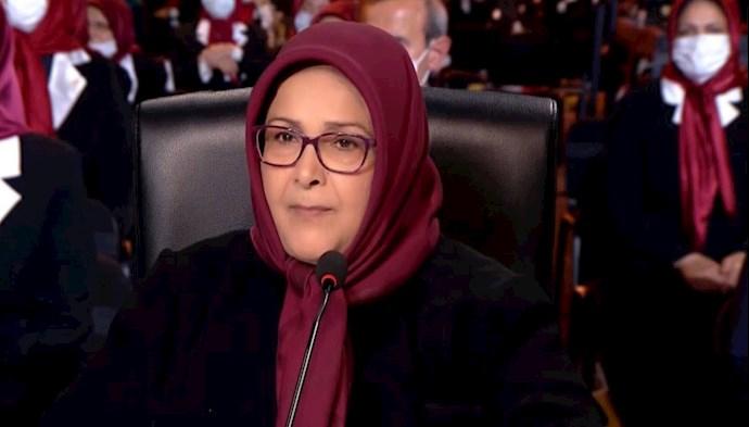 خواهر مجاهد مهوش سپهری مسئول اول پیشین سازمان