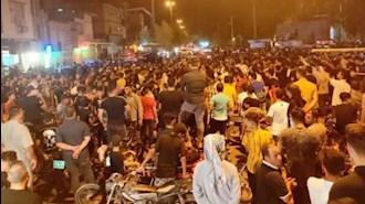 تظاهرات مردم خوزستان در اعتراض به بیآبی