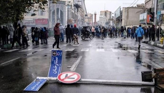 قیام ایران - عکس از آرشیو
