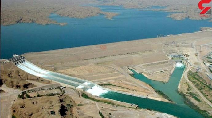 بحران کم آبی در سدهای خوزستان